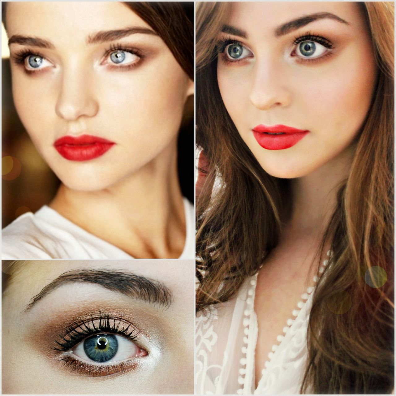 Miranda Kerr Inspired Holiday Makeup Soft Brown Tapoured