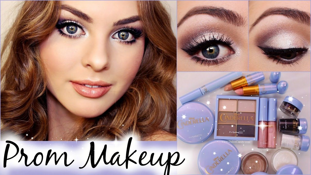 Prom Makeup Tutorial Using Mac Cinderella Collection