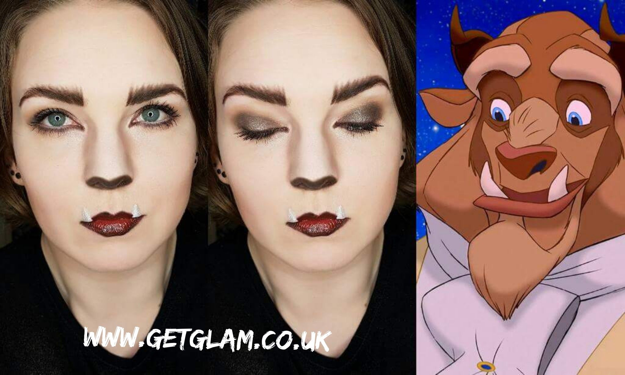 Beast Inspired Makeup // Beauty And The Beast | Beauty, The