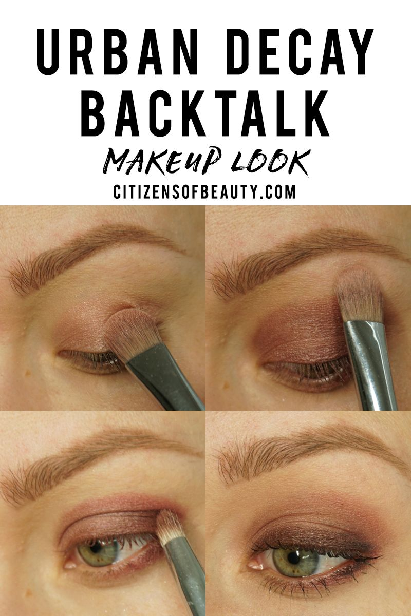 Urban Decay Backtalk Basic Makeup Look | Beauty: Makeup