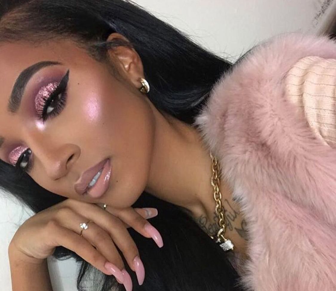 Makeup For Black Women | Black Girl Makeup, Pink Makeup