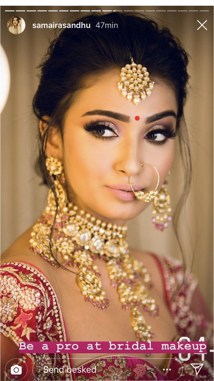 Make Up Simple | Makeup In 2019 | Indian Bridal Makeup ...
